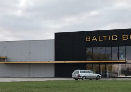 Baltic Bolti laohoone põrandatoestus kruvivaiadel