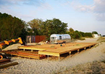 Terrass Pärnu rannas