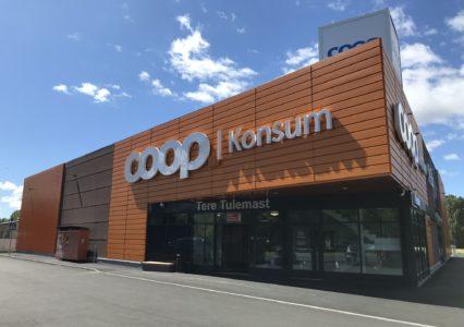 Paikuse Coopi kauplus kruvivaiadel