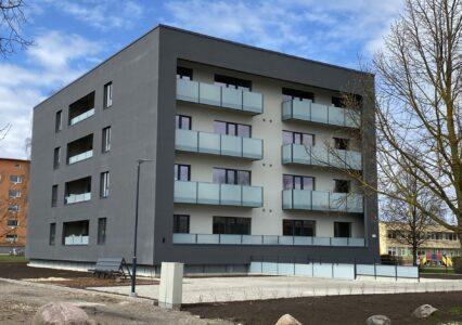 Kortermaja, 5 korrust, kruvivaiad, A.H Tammsaare 6a, Tartu