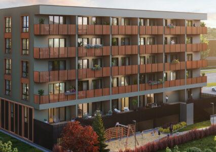 Kuuekordne korterelamu kruvivaiadel, Kuu 24, Tartu